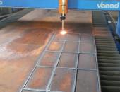 В петербурге на заводе ССК-26 выполняется лазерная резка стальных конструкций