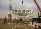 монтаж антенной системы