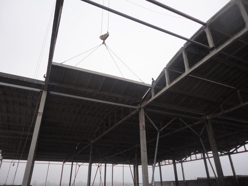 Работы по установке сборных железобетонных конструкций