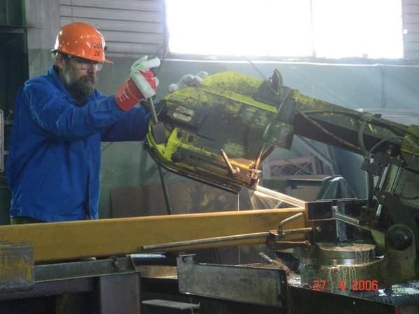 Резка металла на заводе ССК-26