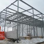 монтаж складского здания