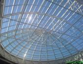 Крыша из стальных конструкций