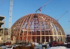 проект купола аквапарка спб