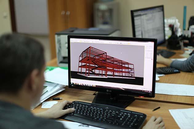 Проекты легких металлоконструкций