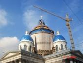 Купол из клееных деревянных конструкций